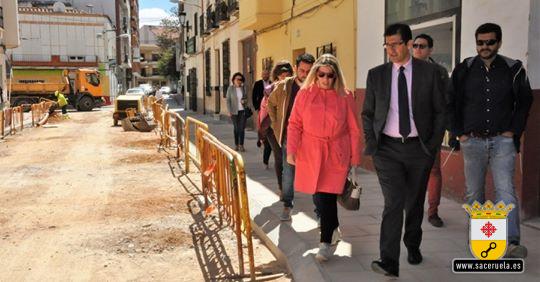 Almadenejos y Saceruela en el Plan de Obras de la Diputación